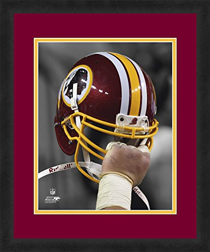 NFL Washington Redskins, Beautifully Framed and Double Matted, 18