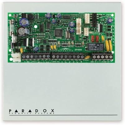Paradox SP6000 Central a microprocesador a 8 zonas cablate ...