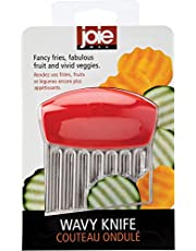 MSC International 13444 Stainless Steel Crinkle Cutter by MSC, Colors May Vary