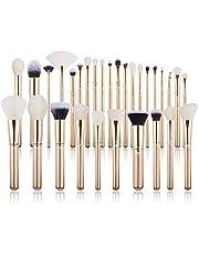 Jessup30 Pcs New Brush Set Make up Brushes Eye Brush Foundation Make-up Brush Professional Beauty Makeup Golden/Rose Gold T400