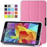 MoKo Samsung Galaxy Tab 4 8.0 Case - Ultra Slim Lightweight Smart-shell Stand Case for Samsung Galaxy Tab 4 8.0 Inch Tablet, PINK (WILL NOT Fit Samsung Galaxy Tab 3 8.0)