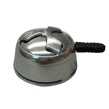 fish Aleación de Aluminio Kaloud Carbón de Leña del Quemador de la Estufa por Holder Shisha cachimba cachimba Tazón Cabeza Guardián de Calor: Amazon.es: ...
