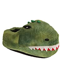 Slumberzzz Childrens/Kids Dinosaur Slippers