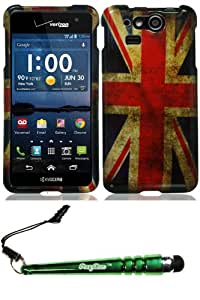 Kyocera C6750 Hydro Elite England Flag Case Cover Protector Include FoxyCase Stylus cas couverture