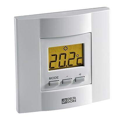 Delta Dore TYBOX 21 6053034 - Termostato de ambiente con teclas