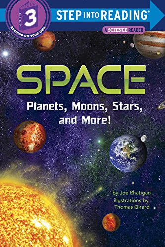 Space: Planets, Moons, Stars, and More! (Step into - Reading Planet