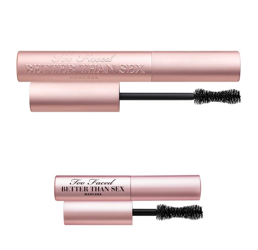 TOO FACED Better Than Sex Mascara Duo - Full Size and Mini Size by Too Faced