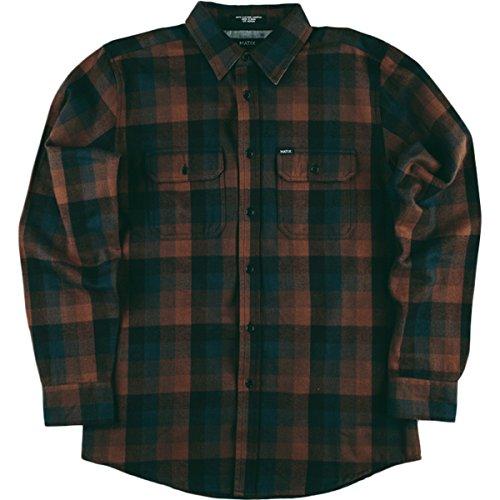 Button Up Long-Sleeve Shirt Small Black (Matix Black Shorts)