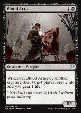 Magic: the Gathering - Blood Artist (081/249) - Eternal Masters - ()