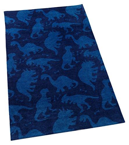 KidKraft Kids Dinosaur Rug Blue product image