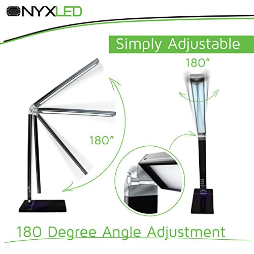 ONYXLED LS1048 14W Adjustable LED Touch Desk Lamp With 3