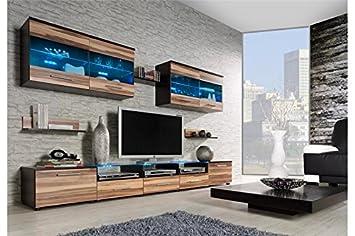 Ensemble Meubles Tv Design CIMI 1   Wengé Et Bois