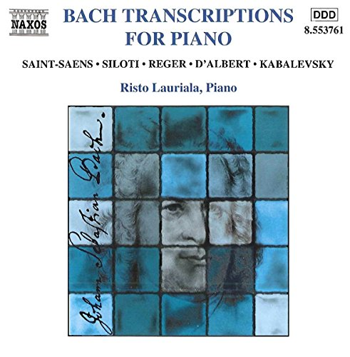 Other Bach Transcriptions (Bach Transcriptions for Piano / Various)