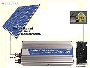 Amazon Com 1000 Watt Solar Backup Power Generator