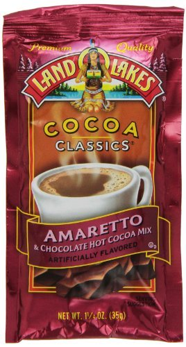 Land O Lakes Cocoa Classics, Chocolate & Amaretto,12 - 1.25-Ounce Packets (Pack of 6)