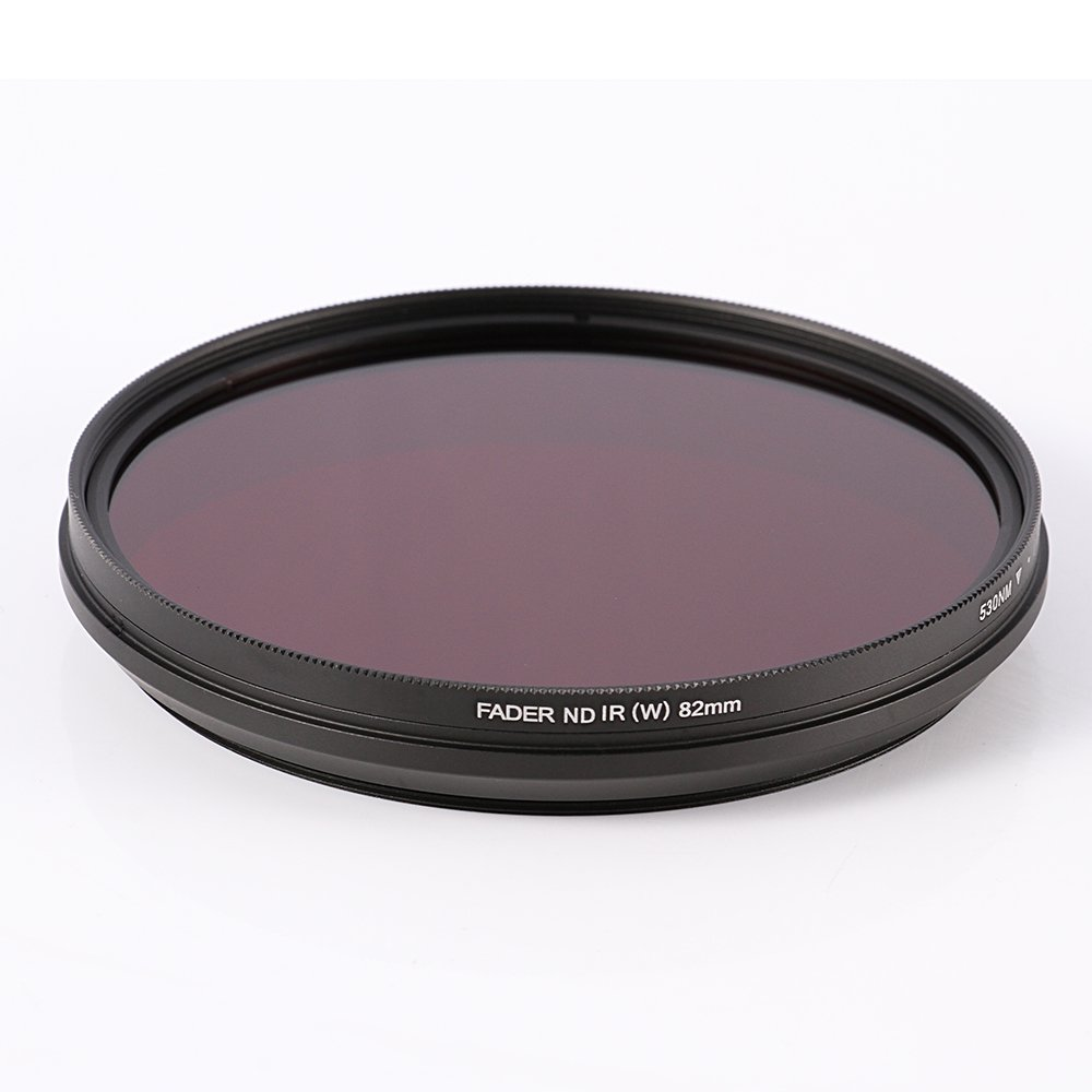 Ruili 62mm Six-in-One Adjustable Infrared IR Pass X-Ray Lens Filter 530nm to 750nm Screw-in Filter for Canon Nikon Sony Panasonic Fuji Kodak DSLR Camera by Ruili