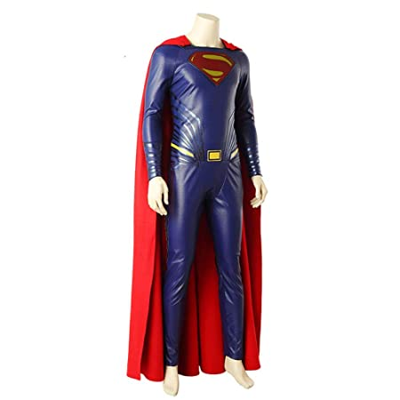 BLOIBFS Halloween Superman Disfraz Adulto, Carnaval Superhéroe ...