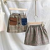 Lessonmart ren Tutu Girls Skirts Solid Button