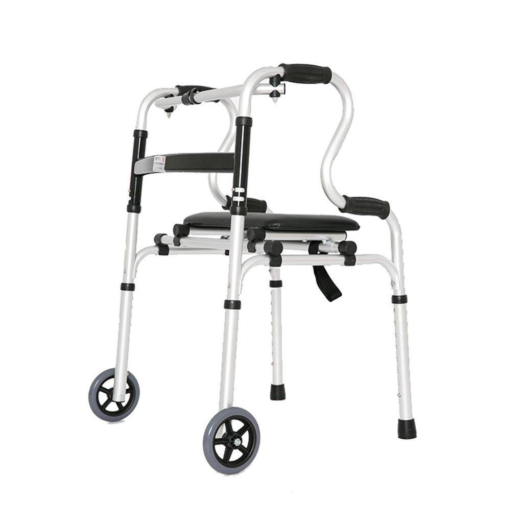 多機能アルミウォーカー4フィート折りたたみ松葉杖アシスタント   B07HFNZ26X