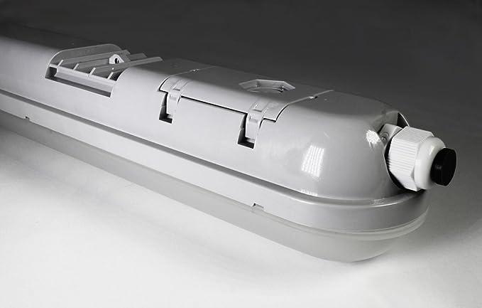Bioledex eruba LED húmedas espacio lámpara 60cm 30w 2700lm 4000k ip44 espacio mojado lámpara