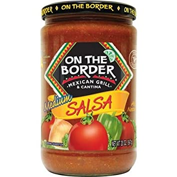 On the Border Mexican Grill & Cantina Salsa - Medium 24 oz. (Pack of