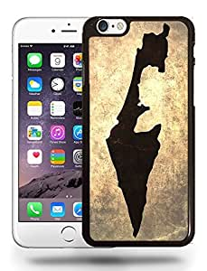 Israel National Vintage Country Landscape Atlas Map Phone Case Cover Designs for iPhone 6 Plus