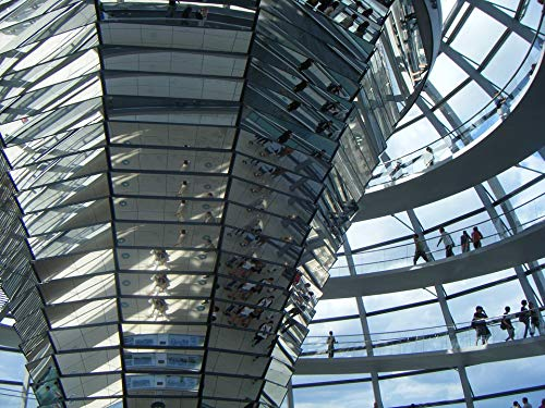 Photography Poster - Berlin, Reichstag, Dome, 24