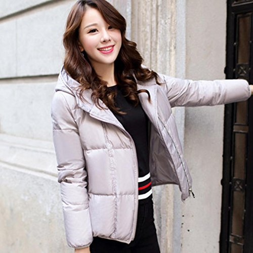 JNIOKF Women Winter Short Coats Plus Size 2XL Female Outwear Abrigo Mujer at Amazon Womens Coats Shop