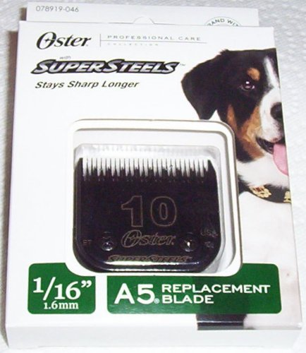Oster Professional Care with Supersteels, 1/16 mm A5 Replacement Blade (Oster Super Steel Blade)