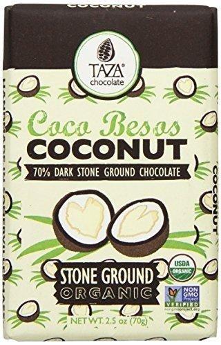 Choc Coconut (Taza Chocolate Choc Amaze Coconut, (Pack of 3))