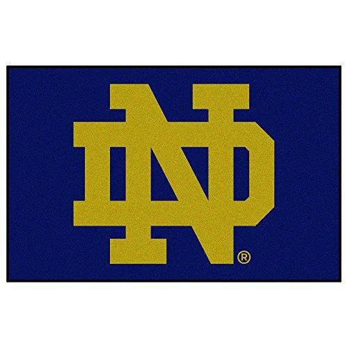 Fighting Irish Door Mat Rug - FANMATS NCAA Notre Dame Fighting Irish Nylon Face Starter Rug