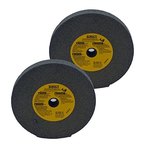 Dewalt DW756 Replacement (2 Pack) 6 inch Bench Grinder Stone 60 grit # 429633-00-2pk