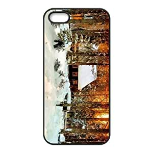 Snowing Town Hight Quality Case for Iphone 5s