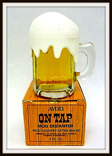 Avon Wild Country After Shave On Tap Decanter 4 oz. by Avon (Image #1)