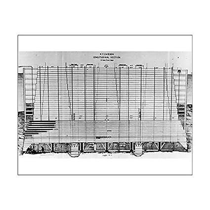 Amazon 10x8 print of blueprint of brooklyn bridge 14622801 10x8 print of blueprint of brooklyn bridge 14622801 malvernweather Gallery