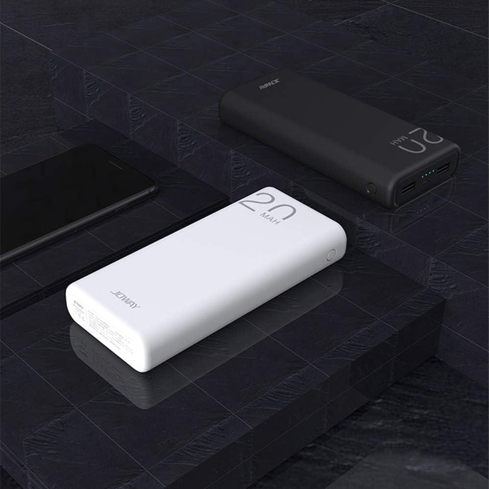 con pantalla LED de pantalla completa, para iPhone iPad Samsung M/óviles Inteligentes y Tabletay M/ás Carga R/ápida Banco de energ/ía TOVAOON Port/átil Powerbank inal/ámbrico,10000mAh 3 USB, 5V 2A