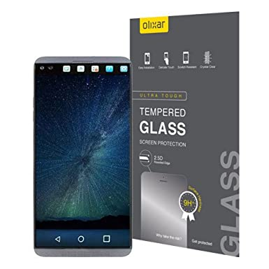 Olixar LG V20 templado vidrio Protector de pantalla: Amazon.es ...