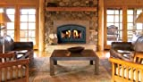 Superior Fireplaces EPA Certified CAT Wood Burning Fireplace w/White Stacked Panels