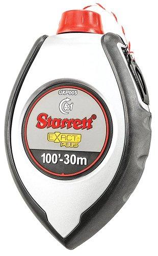 Starrett Exact Plus KCXP005-N Aluminum Impact-Resistant Chalk Box, 100' (30m) Length, 4oz Capacity