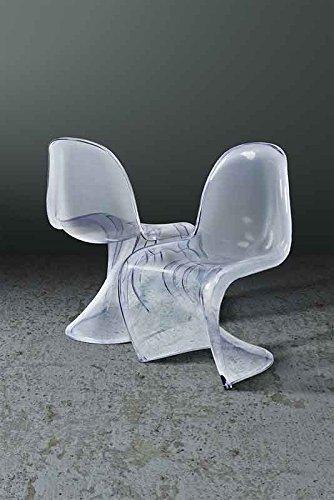 Sedia panton prezzo finest sedia panton s trasparente for Sedia design panton