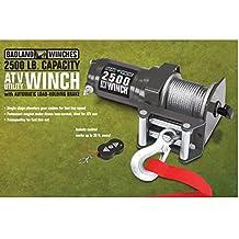 2500 lb. Electric ATV/Utility Winch with Wireless Remote Control