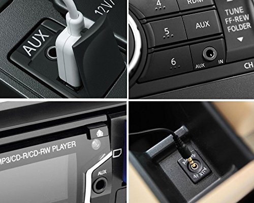Bluetooth MP3 Adapter f/ür Mercedes AUX IN Kabel USB Klinke Stecker Radio Navigation