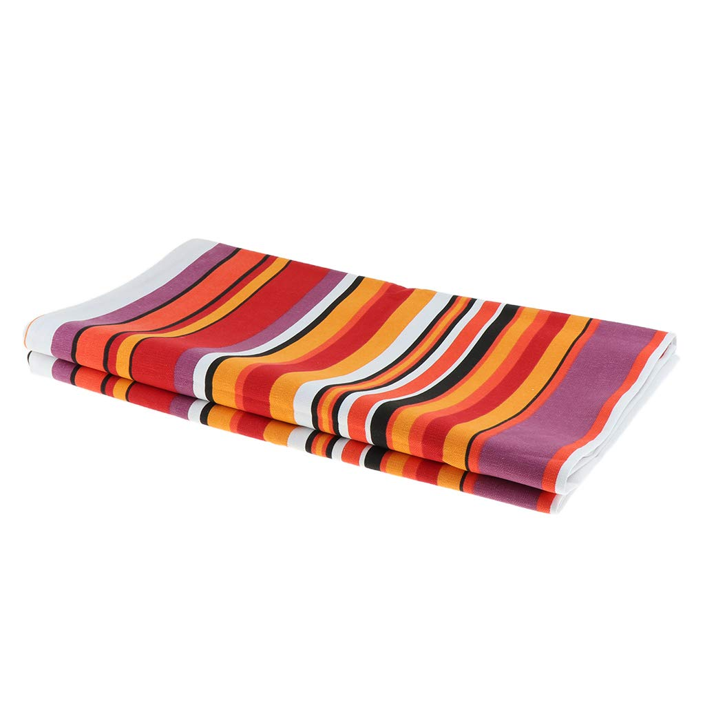 Flameer Luxury Variety of Colors Cotton Slipcover Pad Bedding Runner Scarf for Hotel Suit for 1.5 Meters Bed 50x210cm Color/_1