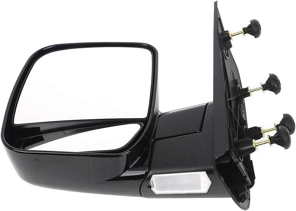 A Pair ECCPP Folding Manual Side View Mirrors Left /& Right Pair Set for 2002 2003 2004 2005 2006 2007 2008 Ford E150 E250 E350 E450 E550 Econoline Van