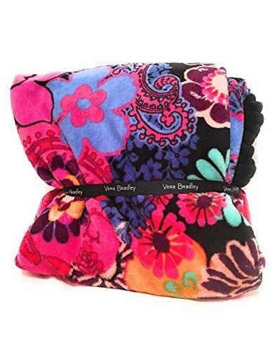 Vera Bradley Throw Blanket (Floral Fiesta) Large Fleece Blanket