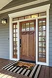 DII Indoor/Outdoor Natural Coir Easy Clean Rubber