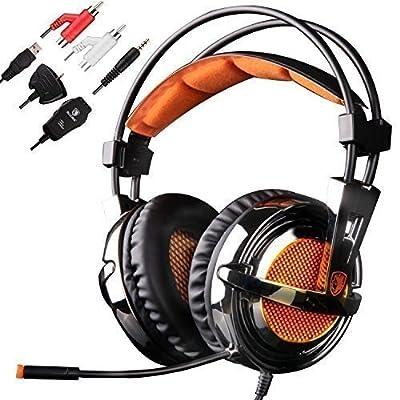 Sades PC IOS/MAC XBOX ONE PS4 XBOX 360 PS3 Gaming Headphone Stereo Headset