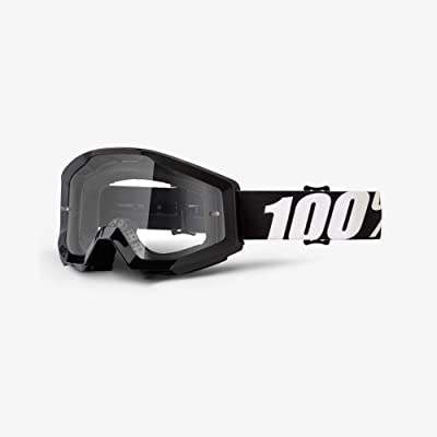 100% unisex-adult Speedlab (50400-233-02) STRATA Goggle Outlaw-Clear Lens, One Size: Automotive