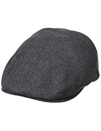 Fred Perry mens Boiled Wool Flat Cap