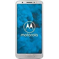 Motorola moto g6 Smartphone (14,478 cm (5,7 Zoll), 3 GB RAM/32 GB, Android) Silber